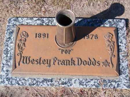 "DODDS, WESLEY FRANK ""POP"" - Brown County, Nebraska 