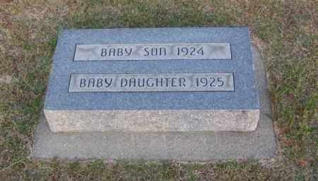 DONAHOO, BABY DAUGHTER - Brown County, Nebraska | BABY DAUGHTER DONAHOO - Nebraska Gravestone Photos