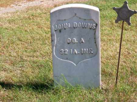DOWNS, JOHN - Brown County, Nebraska | JOHN DOWNS - Nebraska Gravestone Photos