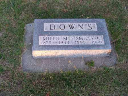 DOWNS, MILLIE M. - Brown County, Nebraska | MILLIE M. DOWNS - Nebraska Gravestone Photos