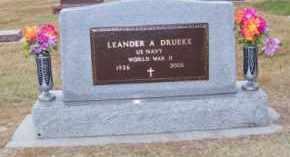 DRUEKE, LEANDER A. - Brown County, Nebraska | LEANDER A. DRUEKE - Nebraska Gravestone Photos