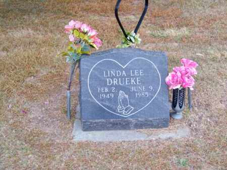 DRUEKE, LINDA LEE - Brown County, Nebraska | LINDA LEE DRUEKE - Nebraska Gravestone Photos