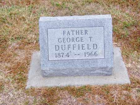 DUFFIELD, GEORGE T. - Brown County, Nebraska | GEORGE T. DUFFIELD - Nebraska Gravestone Photos