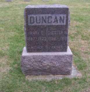 DUNCAN, CHESTER W. - Brown County, Nebraska | CHESTER W. DUNCAN - Nebraska Gravestone Photos