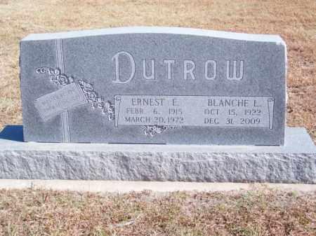 DUTROW, ERNEST E. - Brown County, Nebraska | ERNEST E. DUTROW - Nebraska Gravestone Photos