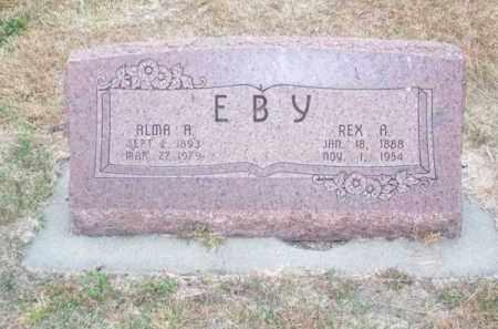 EBY, ALMA A. - Brown County, Nebraska | ALMA A. EBY - Nebraska Gravestone Photos