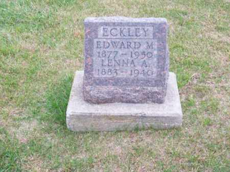 ECKLEY, LENNA A. - Brown County, Nebraska | LENNA A. ECKLEY - Nebraska Gravestone Photos