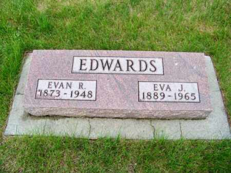 EDWARDS, EVA J. - Brown County, Nebraska | EVA J. EDWARDS - Nebraska Gravestone Photos