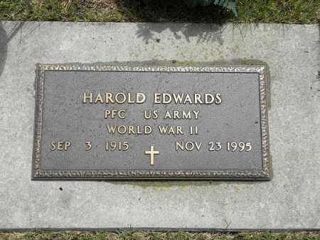 EDWARDS, HAROLD - Brown County, Nebraska | HAROLD EDWARDS - Nebraska Gravestone Photos