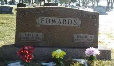 EDWARDS, JENNIE - Brown County, Nebraska   JENNIE EDWARDS - Nebraska Gravestone Photos