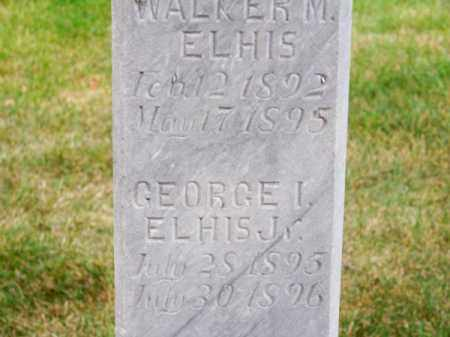 ELHIS, WALKER M. - Brown County, Nebraska | WALKER M. ELHIS - Nebraska Gravestone Photos
