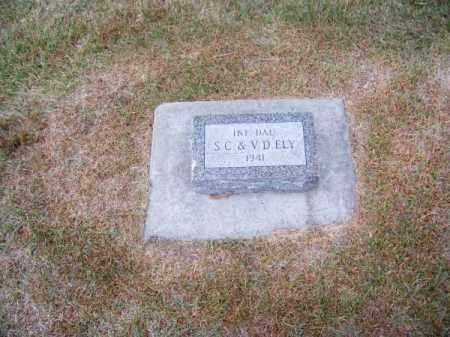 ELY, INFANT DAUGHTER - Brown County, Nebraska   INFANT DAUGHTER ELY - Nebraska Gravestone Photos