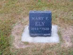 ELY, MARY F. - Brown County, Nebraska | MARY F. ELY - Nebraska Gravestone Photos