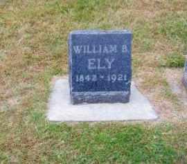 ELY, WILLIAM B. - Brown County, Nebraska | WILLIAM B. ELY - Nebraska Gravestone Photos