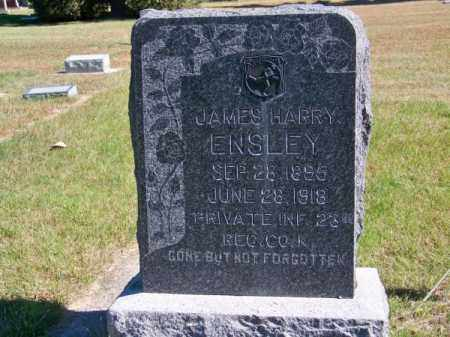 ENSLEY, JAMES HARRY - Brown County, Nebraska | JAMES HARRY ENSLEY - Nebraska Gravestone Photos