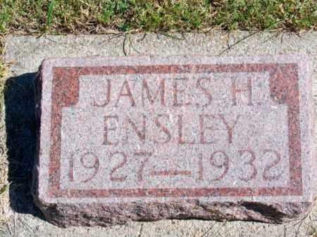 ENSLEY, JAMES H. - Brown County, Nebraska | JAMES H. ENSLEY - Nebraska Gravestone Photos