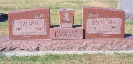 EVANS, DARWIN - Brown County, Nebraska | DARWIN EVANS - Nebraska Gravestone Photos