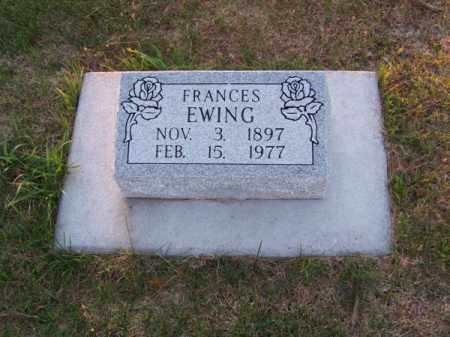 EWING, FRANCES - Brown County, Nebraska | FRANCES EWING - Nebraska Gravestone Photos