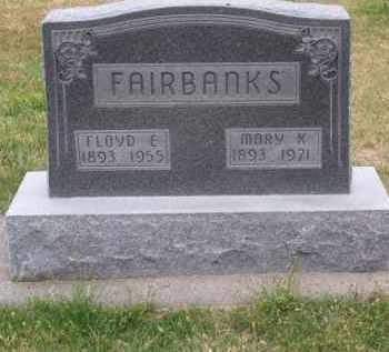 FAIRBANKS, FLOYD E. - Brown County, Nebraska | FLOYD E. FAIRBANKS - Nebraska Gravestone Photos