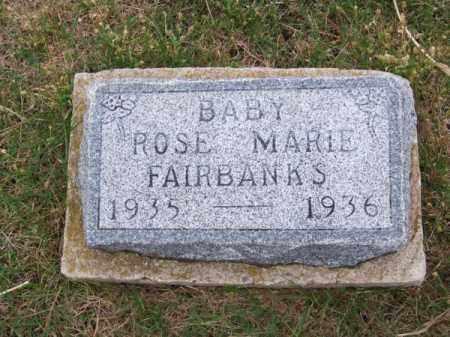 FAIRBANKS, ROSE MARIE - Brown County, Nebraska | ROSE MARIE FAIRBANKS - Nebraska Gravestone Photos