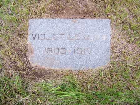 FANCHER, VIOLET LENORA - Brown County, Nebraska   VIOLET LENORA FANCHER - Nebraska Gravestone Photos