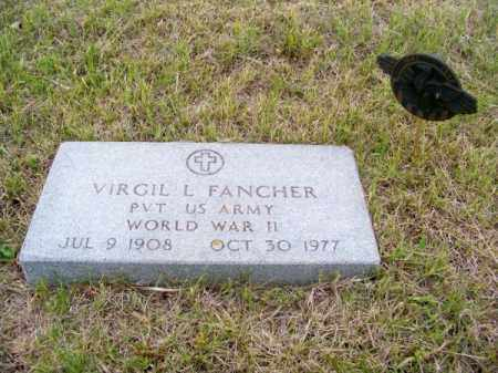 FANCHER, VIRGIL L. - Brown County, Nebraska | VIRGIL L. FANCHER - Nebraska Gravestone Photos