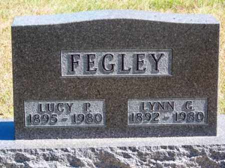 FEGLEY, LUCY P. - Brown County, Nebraska | LUCY P. FEGLEY - Nebraska Gravestone Photos