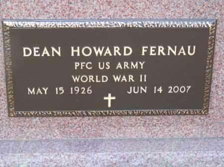 FERNAU, DEAN HOWARD - Brown County, Nebraska | DEAN HOWARD FERNAU - Nebraska Gravestone Photos