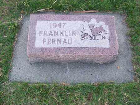 FERNAU, FRANKLIN - Brown County, Nebraska | FRANKLIN FERNAU - Nebraska Gravestone Photos