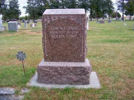 FERNAU, JOHN H. - Brown County, Nebraska | JOHN H. FERNAU - Nebraska Gravestone Photos