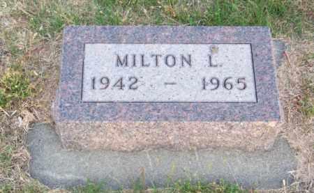 FERNAU, MILTON L. - Brown County, Nebraska   MILTON L. FERNAU - Nebraska Gravestone Photos