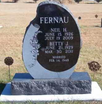 FERNAU, BETTY J. - Brown County, Nebraska   BETTY J. FERNAU - Nebraska Gravestone Photos