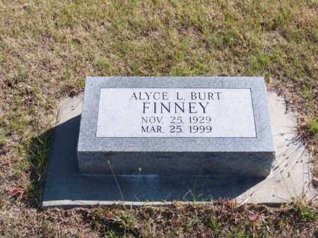 FINNEY, ALYCE L. - Brown County, Nebraska | ALYCE L. FINNEY - Nebraska Gravestone Photos