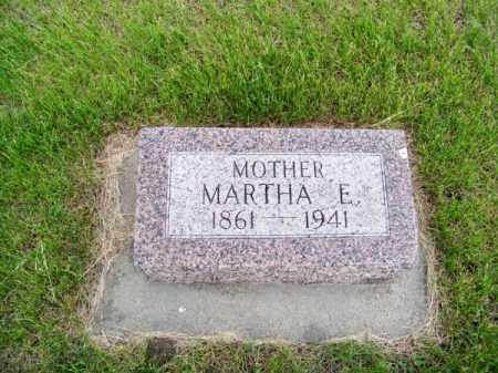 FINNEY, MARTHA E. - Brown County, Nebraska | MARTHA E. FINNEY - Nebraska Gravestone Photos