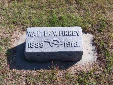 FINNEY, WALTER V. - Brown County, Nebraska | WALTER V. FINNEY - Nebraska Gravestone Photos