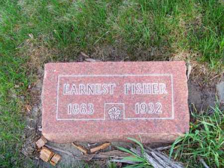FISHER, EARNEST - Brown County, Nebraska | EARNEST FISHER - Nebraska Gravestone Photos