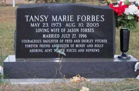 FORBES, TANSY MARIE - Brown County, Nebraska | TANSY MARIE FORBES - Nebraska Gravestone Photos