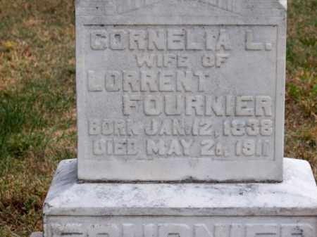 FOURNIER, CORNELIA L. - Brown County, Nebraska | CORNELIA L. FOURNIER - Nebraska Gravestone Photos