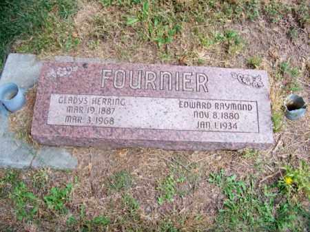 FOURNIER, EDWARD RAYMOND - Brown County, Nebraska | EDWARD RAYMOND FOURNIER - Nebraska Gravestone Photos
