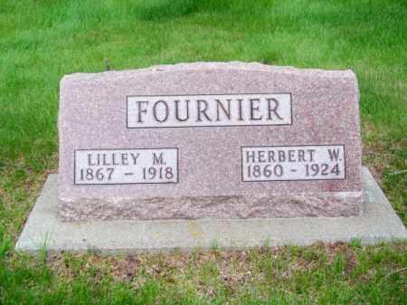 FOURNIER, HERBERT W. - Brown County, Nebraska   HERBERT W. FOURNIER - Nebraska Gravestone Photos