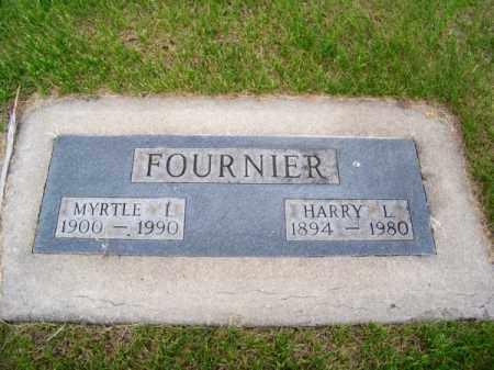 FOURNIER, HARRY L. - Brown County, Nebraska | HARRY L. FOURNIER - Nebraska Gravestone Photos