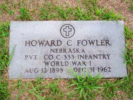 FOWLER, HOWARD C. - Brown County, Nebraska | HOWARD C. FOWLER - Nebraska Gravestone Photos