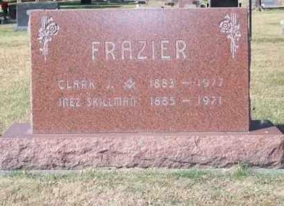 FRAZIER, INEZ - Brown County, Nebraska | INEZ FRAZIER - Nebraska Gravestone Photos