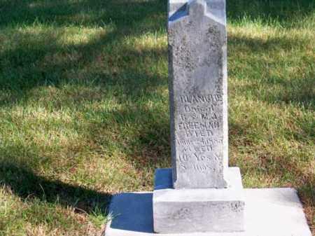 FREEMAN, BLANCHE - Brown County, Nebraska | BLANCHE FREEMAN - Nebraska Gravestone Photos