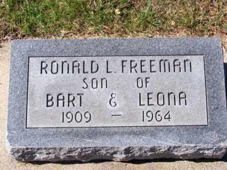 FREEMAN, RONALD L. - Brown County, Nebraska   RONALD L. FREEMAN - Nebraska Gravestone Photos