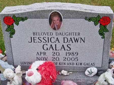 GALAS, JESSICA DAWN - Brown County, Nebraska | JESSICA DAWN GALAS - Nebraska Gravestone Photos