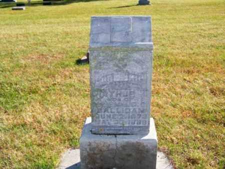 GALLIGAN, ARTHUR - Brown County, Nebraska | ARTHUR GALLIGAN - Nebraska Gravestone Photos