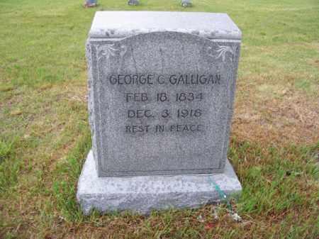 GALLIGAN, GEORGE C. - Brown County, Nebraska | GEORGE C. GALLIGAN - Nebraska Gravestone Photos