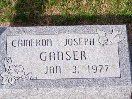 GANSER, CAMERON JOSEPH - Brown County, Nebraska | CAMERON JOSEPH GANSER - Nebraska Gravestone Photos
