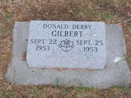 GILBERT, DONALD DERRY - Brown County, Nebraska | DONALD DERRY GILBERT - Nebraska Gravestone Photos